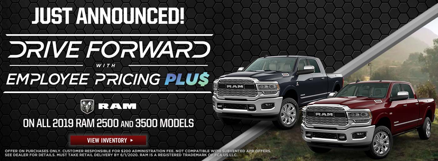 Drive Forward 2019 Ram 2500 and 3500 Models